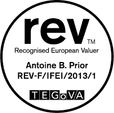 Recognised European Valuer TEGoVA